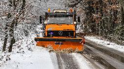 Διακόπηκε η κυκλοφορία προς το Καϊμακτσαλάν λόγω χιονόπτωσης