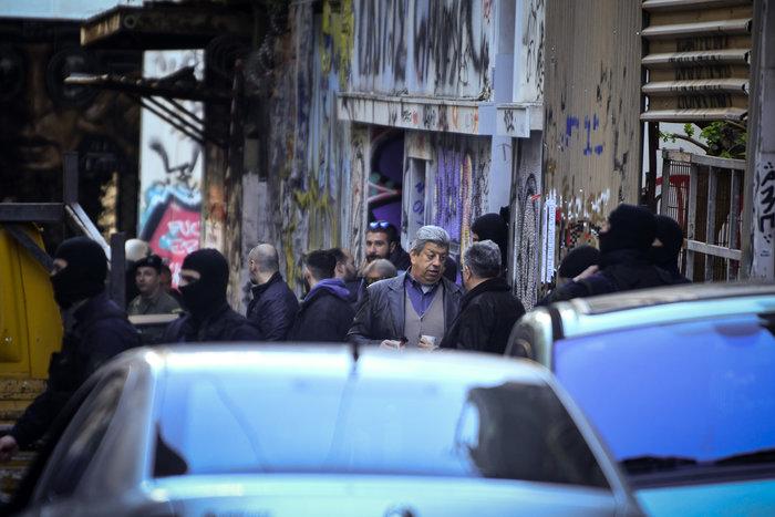 Επιχείρηση της ΕΛΑΣ σε υπό κατάληψη κτίρια στα Εξάρχεια - εικόνα 3