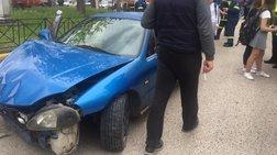 Αγρίνιο:Μαθήτριες παρασύρθηκαν από αυτοκίνητο με ρομά - ΦΩΤΟ