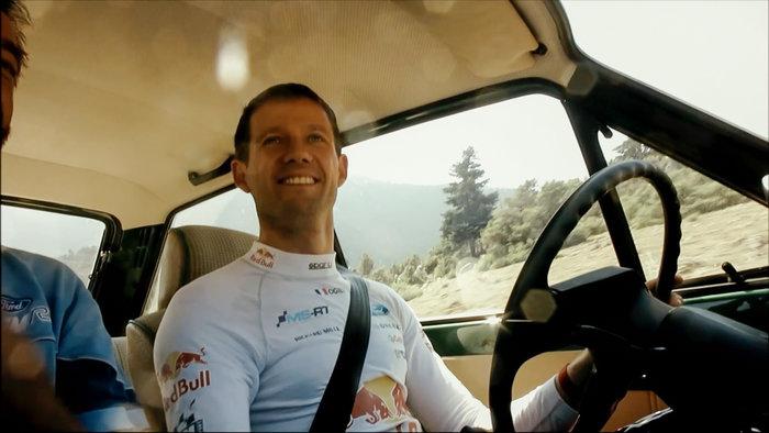 Ο έξι φορές Παγκόσμιος Πρωταθλητής του WRC, Sebastien Ogier, πανευτυχής στο τιμόνι! Ford να'ναι κι'ότι να'ναι!