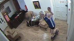 Ο Τζούλιαν Ασάνζ έκανε σκέιτμπορντ μέσα στην πρεσβεία (βίντεο)