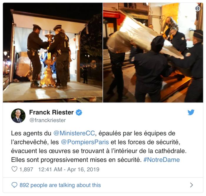 Τι σώθηκε και τι αγνοείται από τους θησαυρούς της Notre Dame