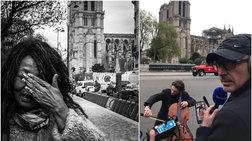 Ο Νίκος Αλιάγας live από την Notre Dame: Οι συγκινητικές στιγμές
