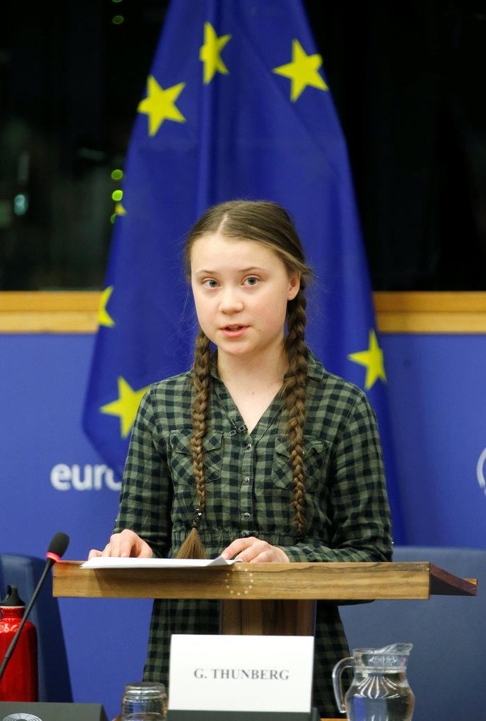 Ευρωκοινοβούλιο: Δραματική έκκληση για το κλίμα από την 16χρονη Τούνμπεργκ