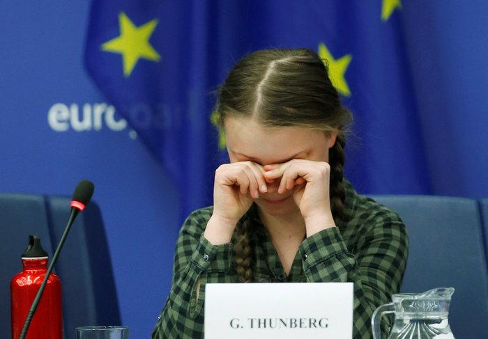 Ευρωκοινοβούλιο: Δραματική έκκληση για το κλίμα από την 16χρονη Τούνμπεργκ - εικόνα 2