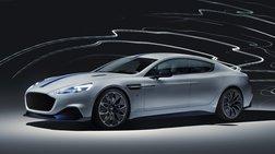 Rapide E: Με τελική 250 χ.α.ω. η πρώτη ηλεκτρική Aston Martin
