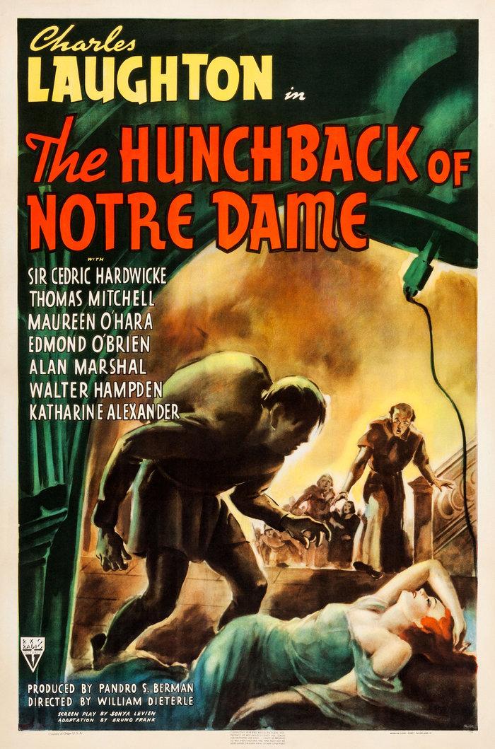 «Παναγία των Παρισίων» (1939)