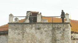 Ενοχοι σε δεύτερο βαθμό μοναχοί της Μ. Εσφιγμένου για μολότοφ στις Καρυές