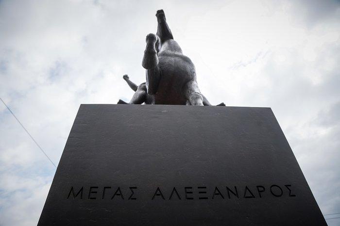 Αποκαλυπτήρια για τον Μέγα Αλέξανδρο στο κέντρο της Αθήνας (φωτό) - εικόνα 2