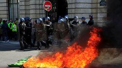 Γαλλία: Άγρια επεισόδια μεταξύ κίτρινων γιλέκων και αστυνομίας