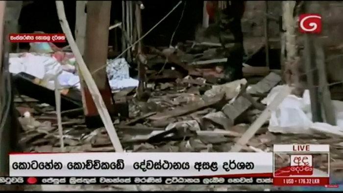 Σρι Λάνκα: Έφοδος σε σπίτι και επτά συλλήψεις για το μακελειό - εικόνα 12