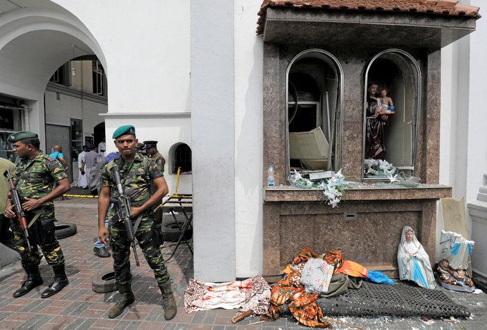 Σρι Λάνκα: Έφοδος σε σπίτι και επτά συλλήψεις για το μακελειό - εικόνα 6