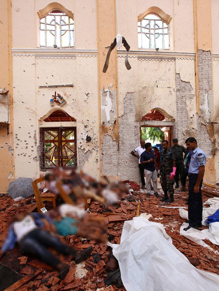 Σρι Λάνκα: Έφοδος σε σπίτι και επτά συλλήψεις για το μακελειό - εικόνα 2