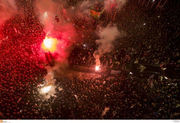 """""""Κάηκε"""" η Θεσσαλονίκη για το πρωτάθλημα του ΠΑΟΚ - εικόνα 4"""