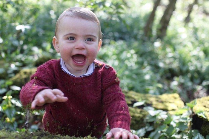 Γενέθλια στο παλάτι: Ο πρίγκιπας Λούις έγινε 1 έτους και μοιράζει χαμόγελα - εικόνα 4