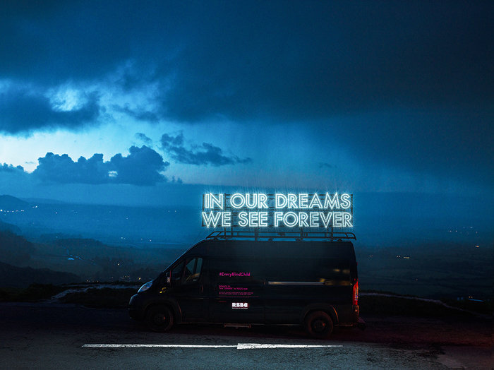 ROBERT MONTGOMERY Commission for the Royal Society for Blind Children, 2018