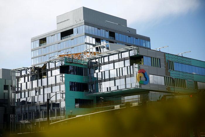 Kατέρρευσε γερανός σε υπό κατασκευή γραφεία της Google - 4 νεκροί - εικόνα 2