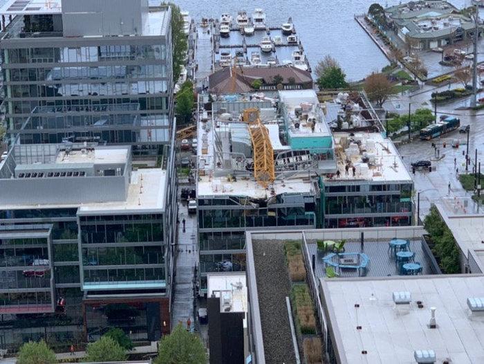 Kατέρρευσε γερανός σε υπό κατασκευή γραφεία της Google - 4 νεκροί - εικόνα 3