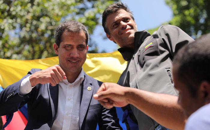 Στην πρεσβεία της Ισπανίας στο Καράκας κατέφυγε ο Λόπεζ (φωτό)