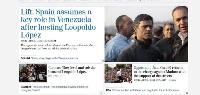 Στην πρεσβεία της Ισπανίας στο Καράκας κατέφυγε ο Λόπεζ (φωτό) - εικόνα 3
