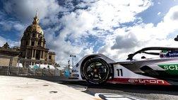 Ο Ρόμπιν Φρίινς με Audi e-tron FE05 νικητής στο E-Prix στο Παρίσι