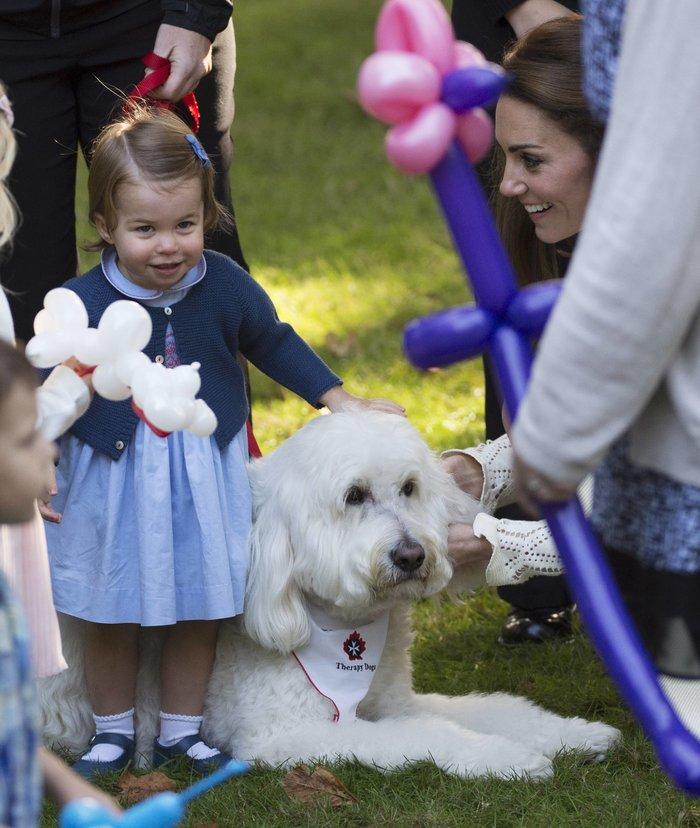 Ξέρουμε γιατί η πριγκίπισσα Σάρλοτ είναι πάντα ντυμένη στα γαλάζια - εικόνα 2