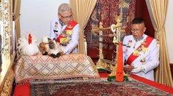 Ταϊλάνδη: Σύγχυση για τον γάτο στην τελετή ενθρόνισης του βασιλιά