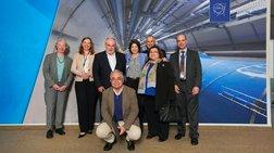 Ελληνική αντιπροσωπεία στο CERN