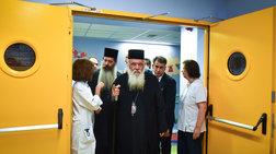 Ο Αρχιεπίσκοπος Ιερώνυμος στο Παίδων για την 8χρονη Αλεξία