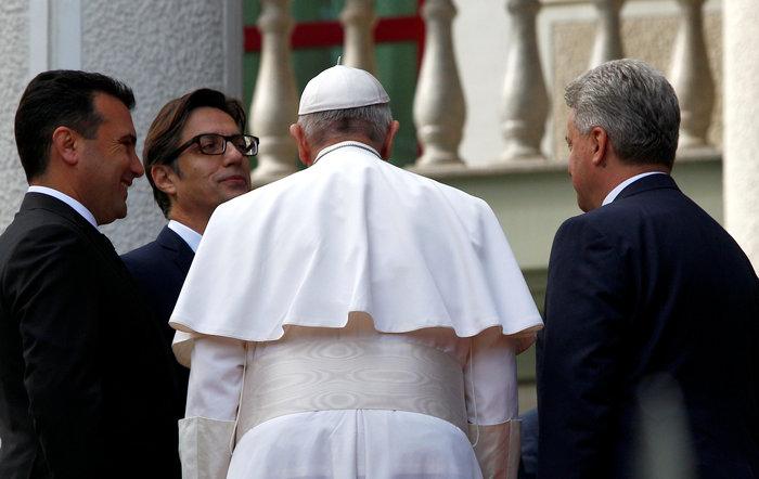 Στα Σκόπια ο Πάπας Φραγκίσκος - Η επιμονή του Ιβάνοφ - εικόνα 2