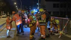 Οκτώ τραυματίες από σύγκρουση τρένου με φορτηγό στη Γερμανία