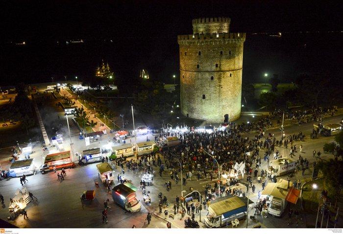 Η νύχτα μέρα στη Θεσσαλονίκη για τον νταμπλούχο ΠΑΟΚ [Εικόνες-Video]