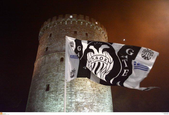 Η νύχτα μέρα στη Θεσσαλονίκη για τον νταμπλούχο ΠΑΟΚ [Εικόνες-Video] - εικόνα 3