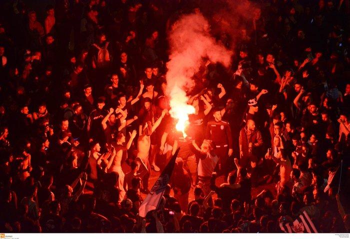 Η νύχτα μέρα στη Θεσσαλονίκη για τον νταμπλούχο ΠΑΟΚ [Εικόνες-Video] - εικόνα 4