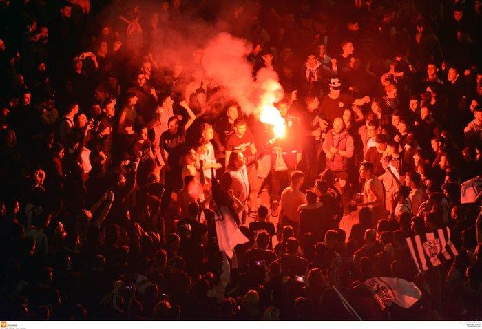 Η νύχτα μέρα στη Θεσσαλονίκη για τον νταμπλούχο ΠΑΟΚ [Εικόνες-Video] - εικόνα 5