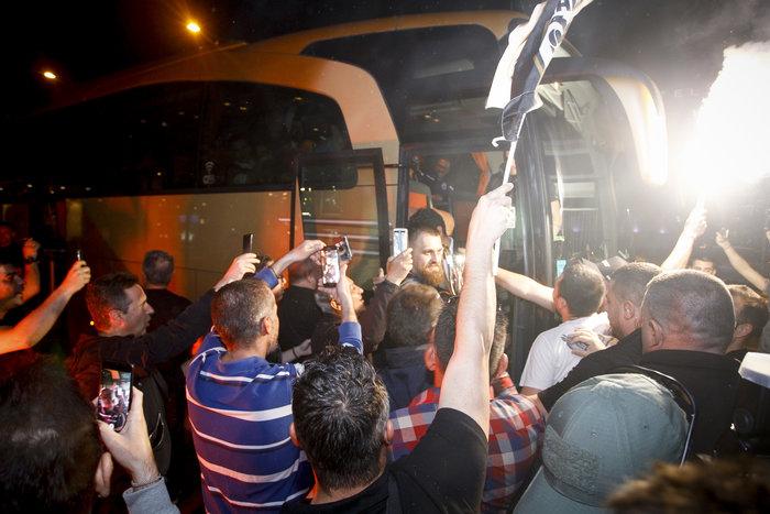 Η νύχτα μέρα στη Θεσσαλονίκη για τον νταμπλούχο ΠΑΟΚ [Εικόνες-Video] - εικόνα 8