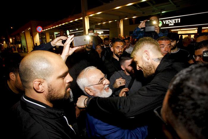 Η νύχτα μέρα στη Θεσσαλονίκη για τον νταμπλούχο ΠΑΟΚ [Εικόνες-Video] - εικόνα 7