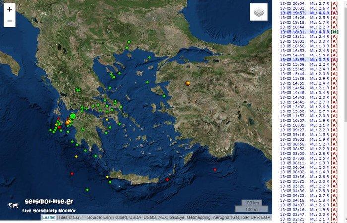 Νέα ισχυρή σεισμική δόνηση κοντά στην Αμαλιάδα - εικόνα 2