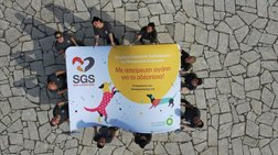 SGS και BP μαζί, «Με αστείρευτη αγάπη για τα αδέσποτα»