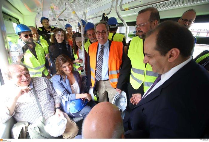 Στις ράγες ο πρώτος συρμός του Μετρό της Θεσσαλονίκης