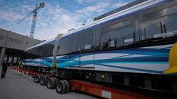 Πηγές ΝΔ για μετρό Θεσσαλονίκης: Εγκαινίασαν τέσσερα βαγόνια χωρίς σταθμό
