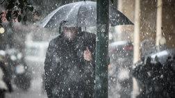 Ισχυρές βροχές και χαλάζι αυτή την ώρα στην Αττική