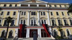 Κόκκινο και μαύρο χρώμα στο ΥΜΑΘ για τη Γενοκτονία των Ελλήνων του Πόντου