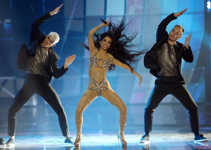 Ελένη Φουρέιρα: Με αέρα ποπ σταρ και 250.000 Swarovski στη Eurovision