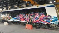 apisteuto-sunthimata--gkrafiti-sta-bagonia-tou-metro-thessalonikis--eikones