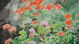 Εικοσιδύο άνθη από τον Nicholas Egon για το Μουσείο Μπενάκη
