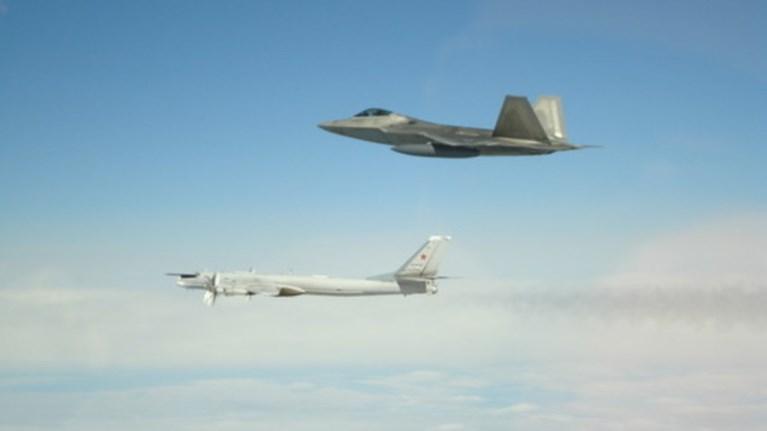 Αμερικανικά μαχητικά αναχαίτισαν ρωσικά βομβαρδιστικά