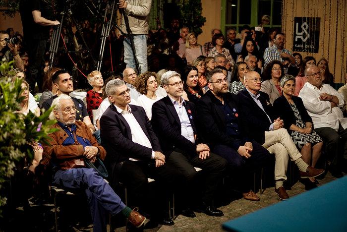 Θεοδωράκης: Όχι στον συριζαίο, νεοδημοκράτη & πασόκο Γκρούεζα