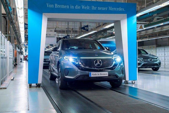 Ανακοινώθηκε η τιμή της Mercedes-Benz EQC στην ελληνική αγορά