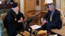 Συνάντηση Βαρθολομαίου με τον αμερικανό πρέσβη Τζέφρι Πάιατ